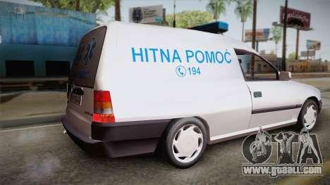 Opel Astra F Van Ambulance for GTA San Andreas left view