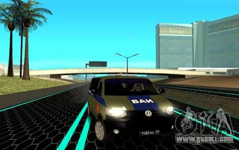 Volkswagen Transporter for GTA San Andreas