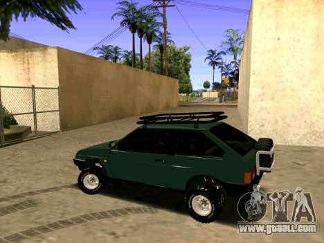 VAZ-2108 4x4 for GTA San Andreas back left view