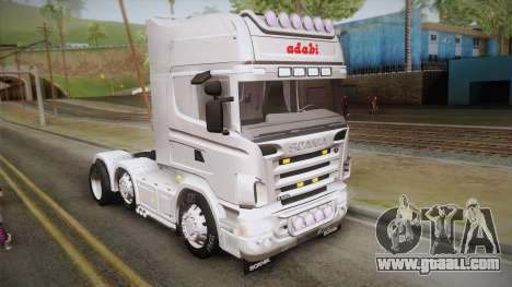 Scania R620 White Adabi for GTA San Andreas
