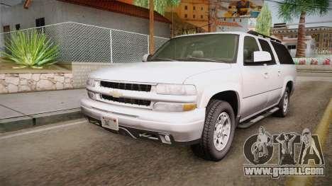 Chevrolet Suburban Z71 2003 for GTA San Andreas