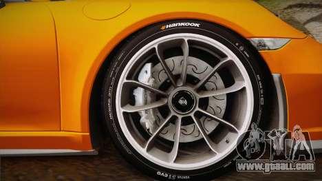 Porsche 911 R (991) 2017 v1.0 for GTA San Andreas back left view