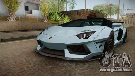 Lamborghini Aventador LP700-4 Roadster 2013 v2 for GTA San Andreas