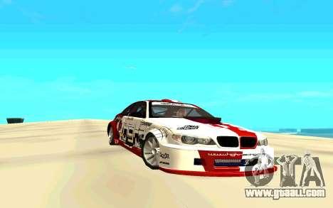 BMW E46 for GTA San Andreas