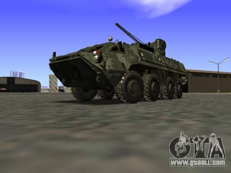 BTR 4 for GTA San Andreas right view