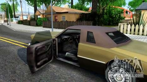 Idaho SA style for GTA San Andreas inner view