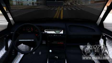 VAZ 2114 for GTA San Andreas inner view