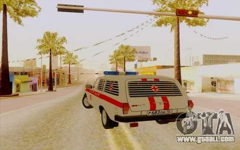 Volga 3110 for GTA San Andreas left view