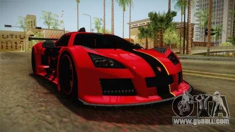 Gumpert Apollo Enraged for GTA San Andreas