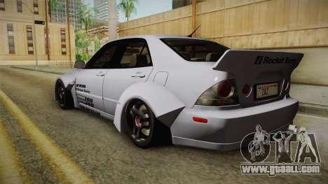 Lexus IS300 Rocket Bunny v2 for GTA San Andreas left view