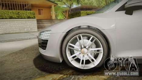 Audi Le Mans Quattro 2005 v1.0.0 YCH Dirt PJ for GTA San Andreas back left view