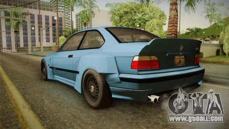 BMW M3 E36 Pandem Kit for GTA San Andreas left view