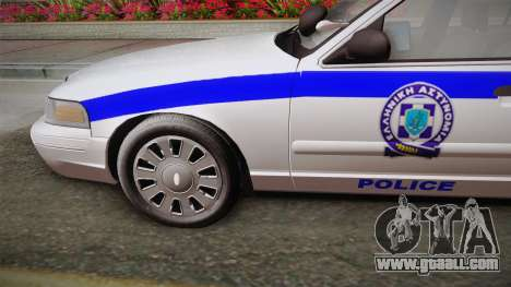 Ford Crown Victoria 2006 for GTA San Andreas back left view