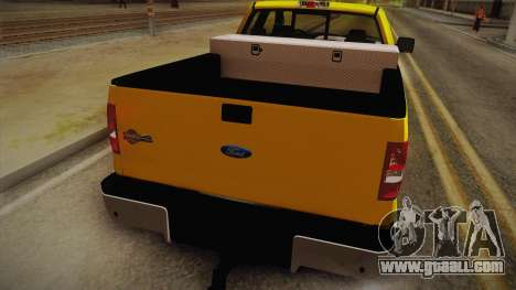 Ford F-150 2005 King Cab for GTA San Andreas back view