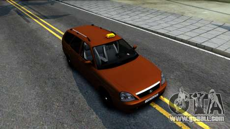 VAZ 2171 Taxi for GTA San Andreas right view