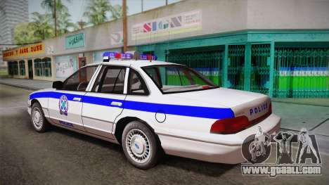 Ford Crown Victoria 1994 for GTA San Andreas left view