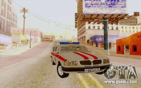 Volga 3110 for GTA San Andreas