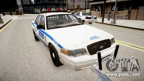 Ford Crown Victoria Police In 2009 for GTA 4