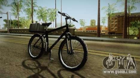Police Mountain Bike for GTA San Andreas