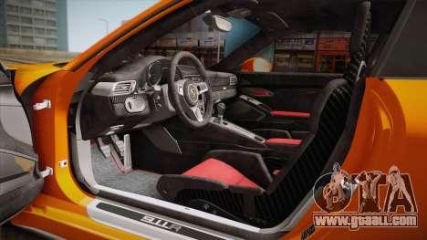 Porsche 911 R (991) 2017 v1.0 for GTA San Andreas side view