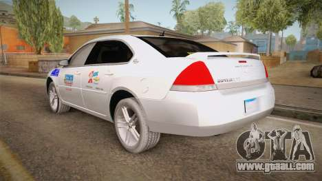 Chevrolet Impala LTZ 2008 Drivetek for GTA San Andreas left view