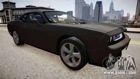 Dodge Challenger SRT8 2010 for GTA 4 right view