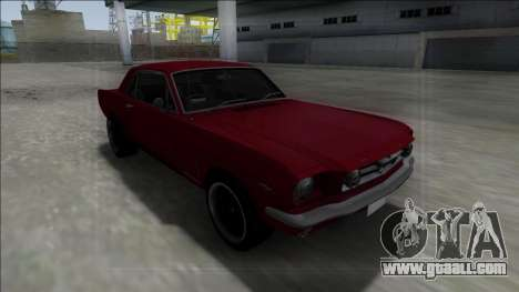 1965 Ford Mustang for GTA San Andreas