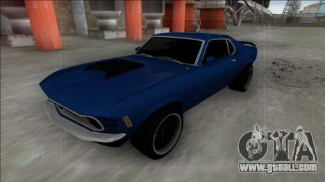1970 Ford Mustang Boss 429 for GTA San Andreas right view