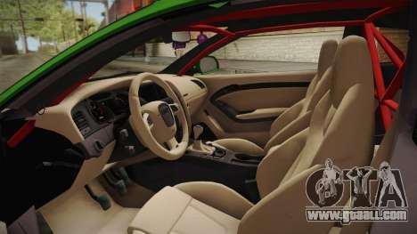 Audi S5 Liberty Walk LB-Works for GTA San Andreas inner view