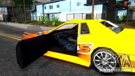 Elegy Paintjob DriftWorks for GTA San Andreas inner view