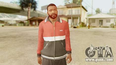 GTA 5 Franklin Jacket and Tracker Pant v2 for GTA San Andreas third screenshot