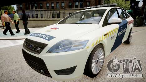 Hungarian Ford Police Car for GTA 4