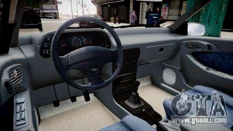 Daewoo Espero GLX 1.5 16V DOHC 1996 for GTA 4 inner view