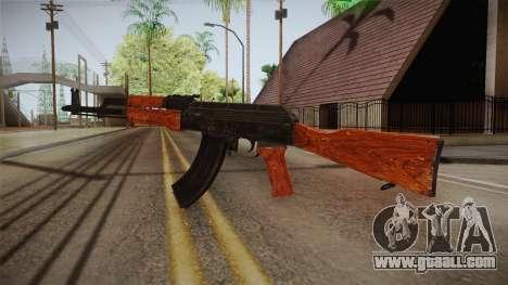CoD 4: MW - AK-47 Remastered for GTA San Andreas second screenshot