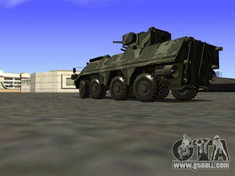 BTR 4 for GTA San Andreas back view