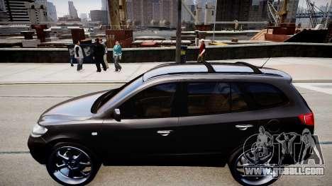 Hyundai Santa Fe for GTA 4 left view