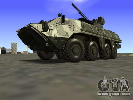 BTR 4 for GTA San Andreas left view