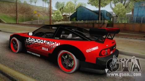 Nissan 180SX Drift for GTA San Andreas left view