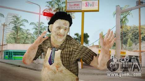 Mortal Kombat X - Leatherface Killer for GTA San Andreas