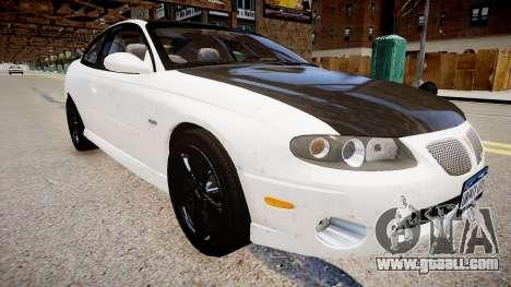 Pontiac GTO for GTA 4