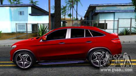 Mercedes-Benz GLE 450 AMG 2015 for GTA San Andreas left view