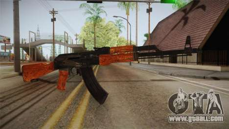 CoD 4: MW - AK-47 Remastered for GTA San Andreas