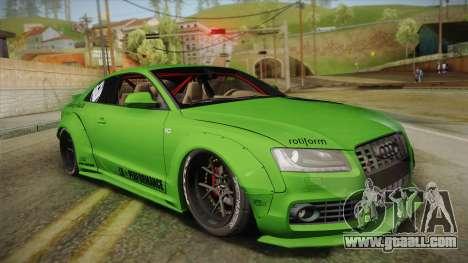 Audi S5 Liberty Walk LB-Works for GTA San Andreas