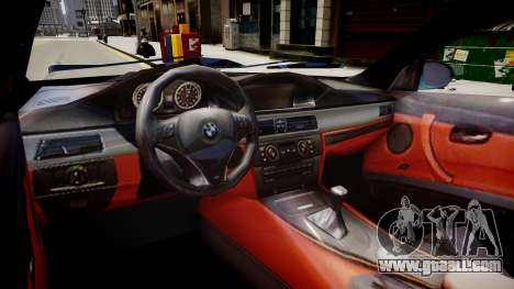 BMW M3 Pickup for GTA 4 inner view