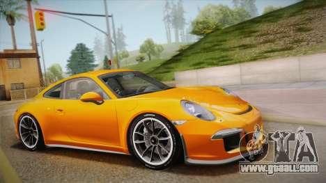 Porsche 911 R (991) 2017 v1.0 for GTA San Andreas