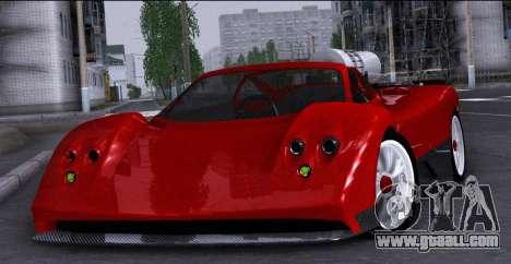 Pagani Zonda Revolucion 2016 for GTA San Andreas