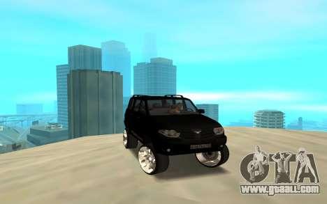 UAZ Patriot 2014 for GTA San Andreas