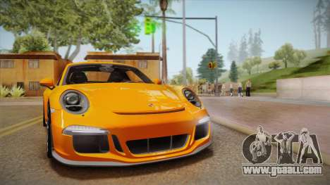 Porsche 911 R (991) 2017 v1.0 for GTA San Andreas back view