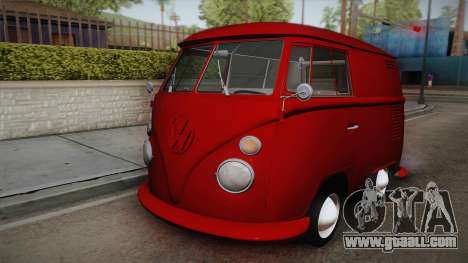 Volkswagen T1 Shortbus for GTA San Andreas
