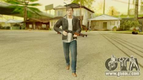 PS4 Norman Reedus for GTA San Andreas second screenshot
